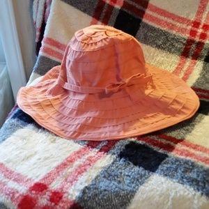 EUC San Diego Hat Co. Peach Sun Hat